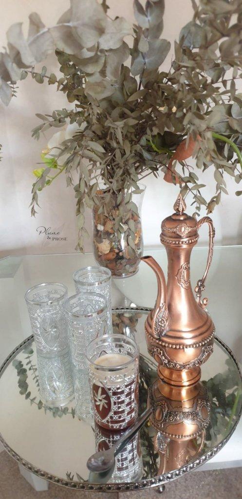 """""""Atāy"""" ou le thé traditionnel à la menthe"""
