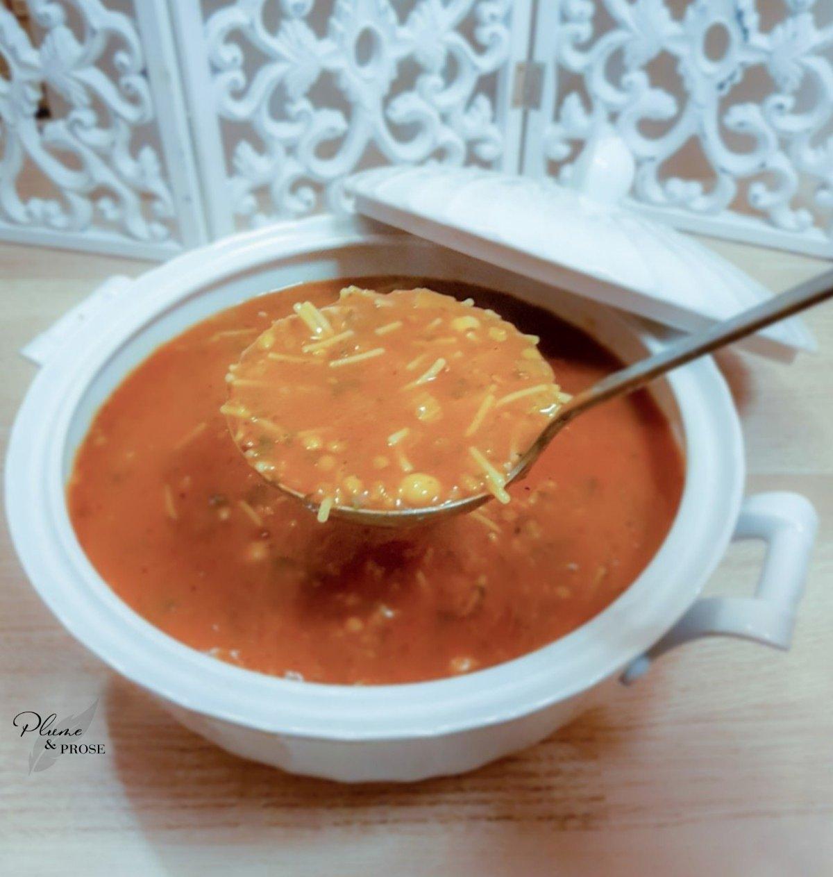 """""""Harira"""" ou la Soupe Traditionnelle Marocaine"""