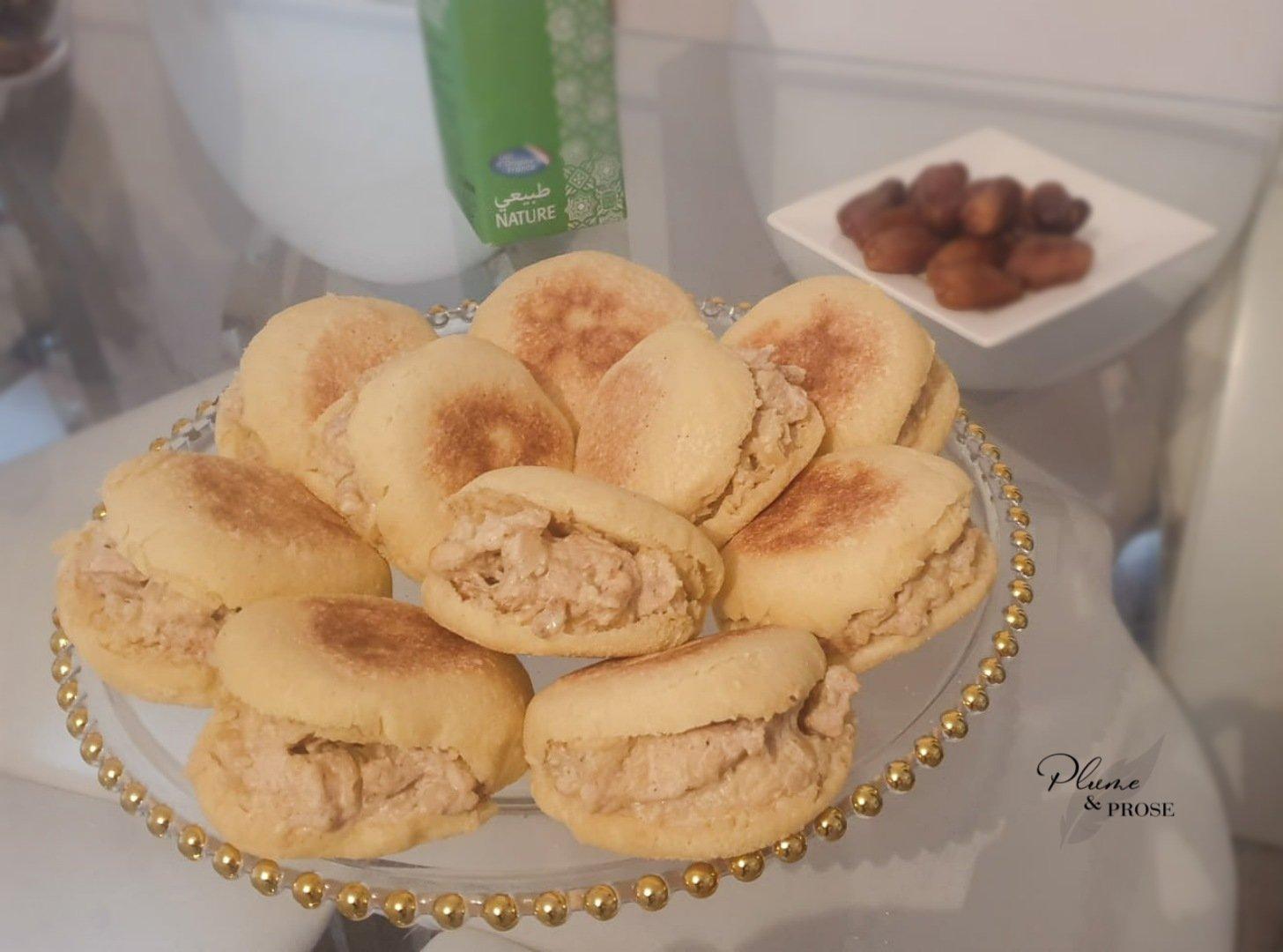 """""""Batbout"""" ou le Petit pain marocain à la poêle"""