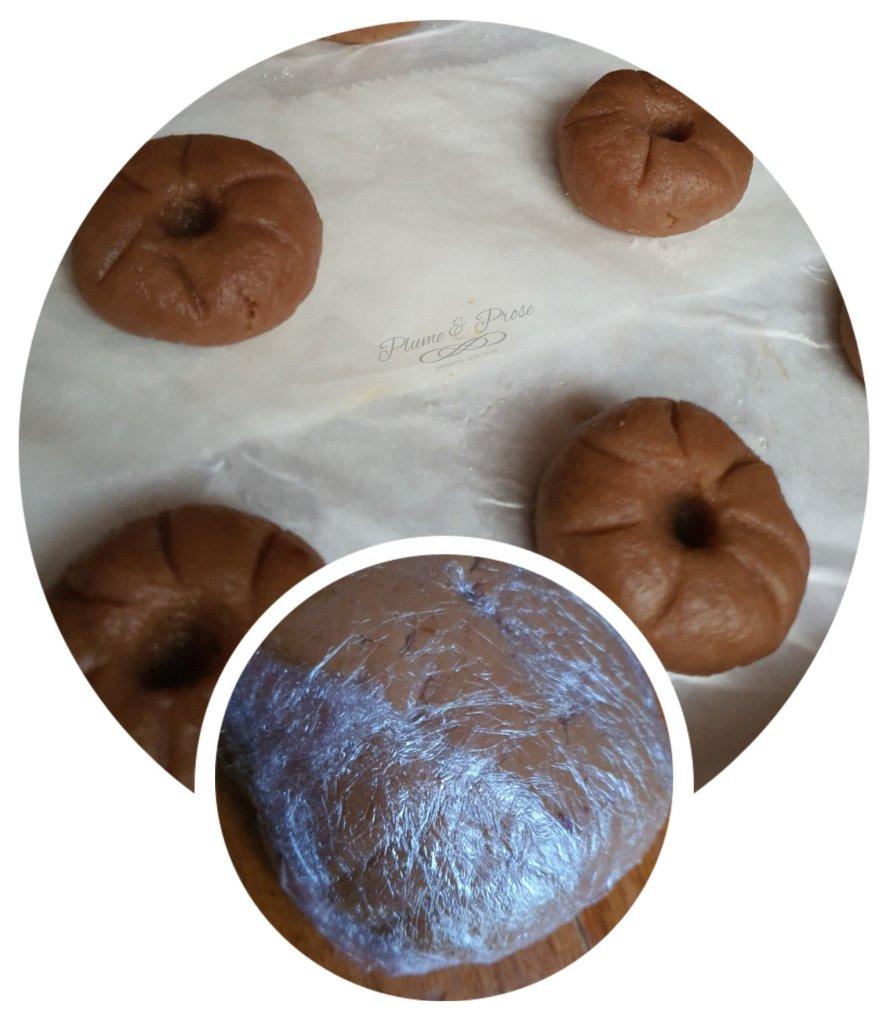 Préparation des Boules Fraise-Coco ou le Gâteau 3 en 1