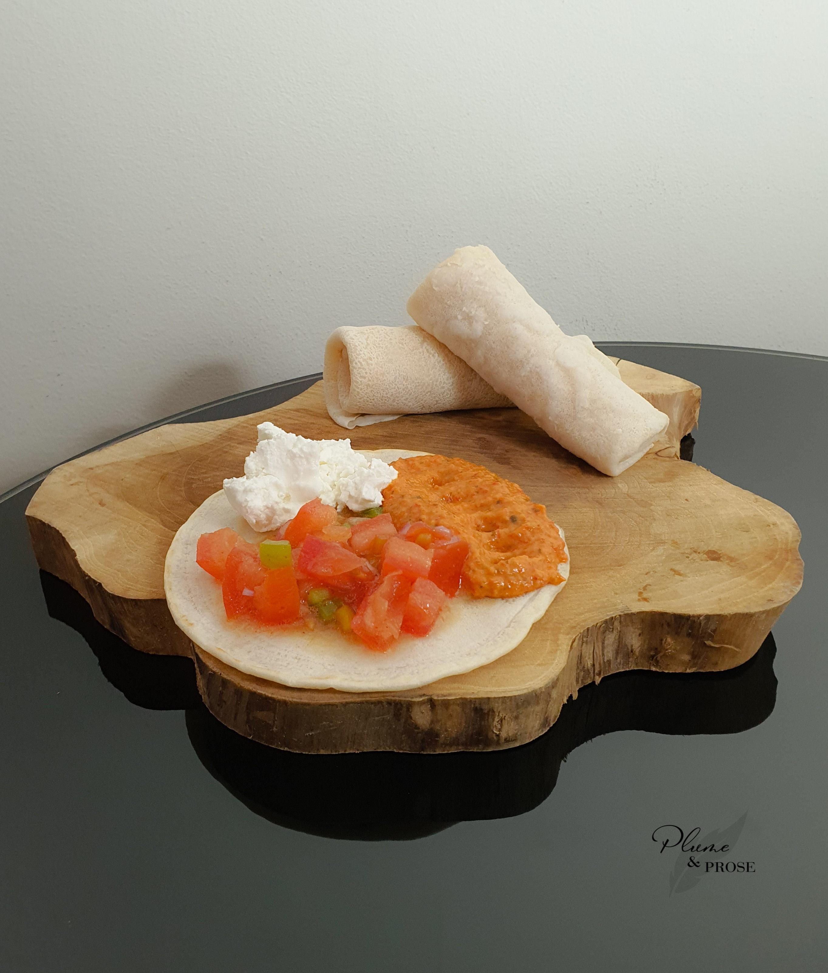 """""""Injera"""" ou le pain spongieux éthiopien"""