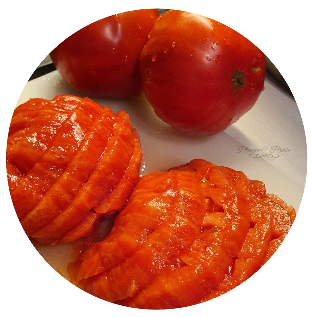 Préparation du Paleron fondant à la tomate