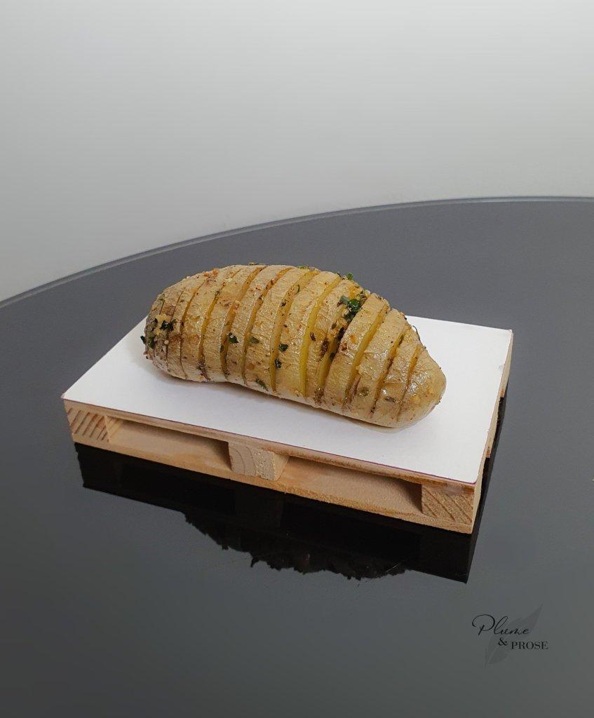 """""""Hasselbackspotatis"""" ou les Pommes de terre Hasselback"""