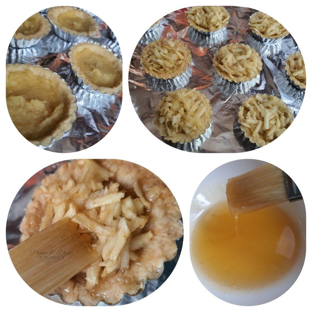 Préparation des Tartelettes aux Pommes