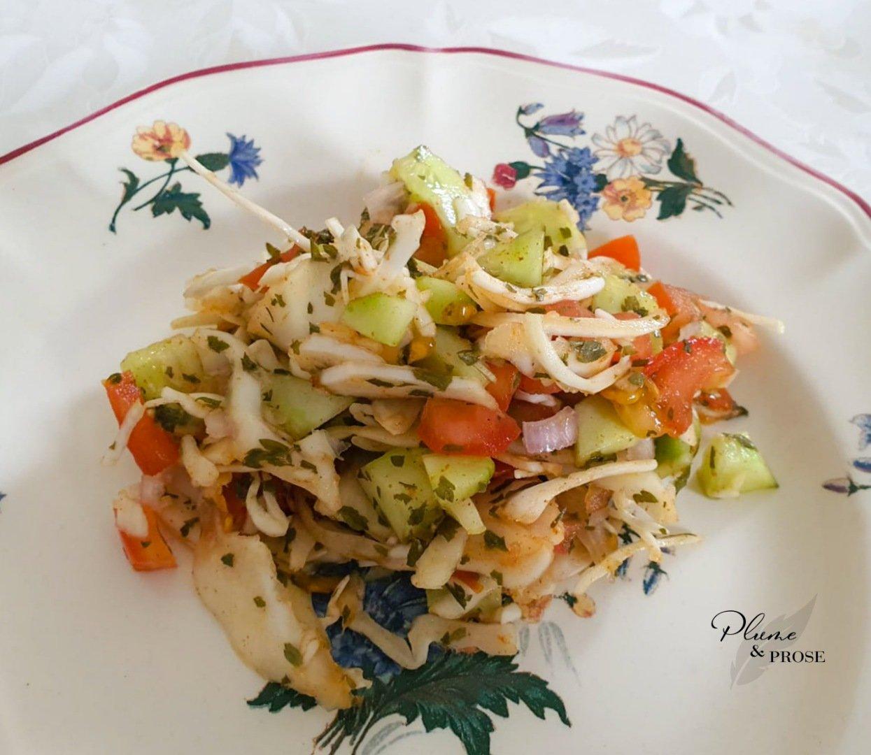 """""""Kachumbari"""" ou la Salade d'Afrique de l'Est"""