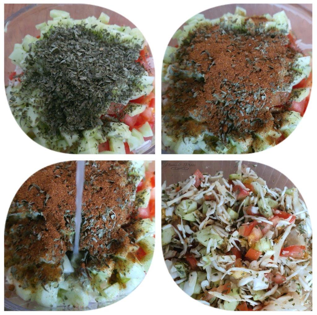 """Préparation du """"Kachumbari"""" ou la Salade d'Afrique de l'Est"""