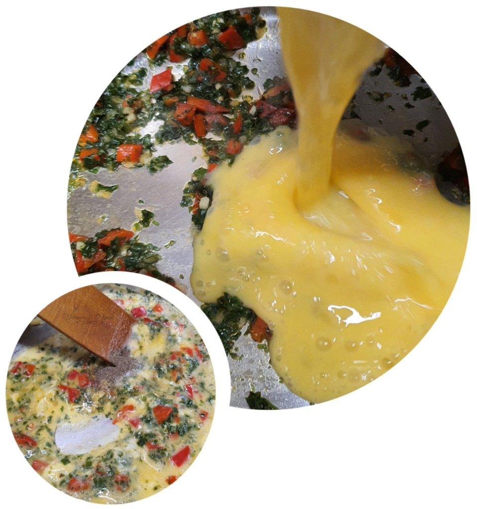 Préparation des œufs brouillés et durs au Lumba-Lumba ou le Délice Kasaïen