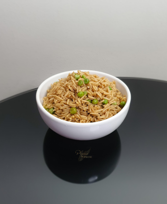 Savoureusement coloré, ce riz portugais vous étonnera