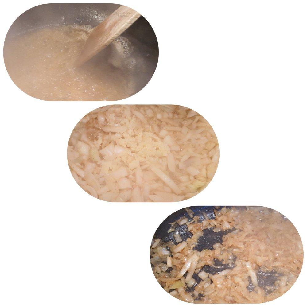 Préparation du ragoût d'agneau