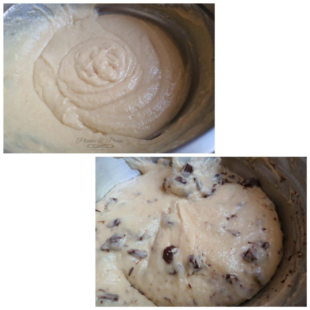 Préparation des Muffins Américains