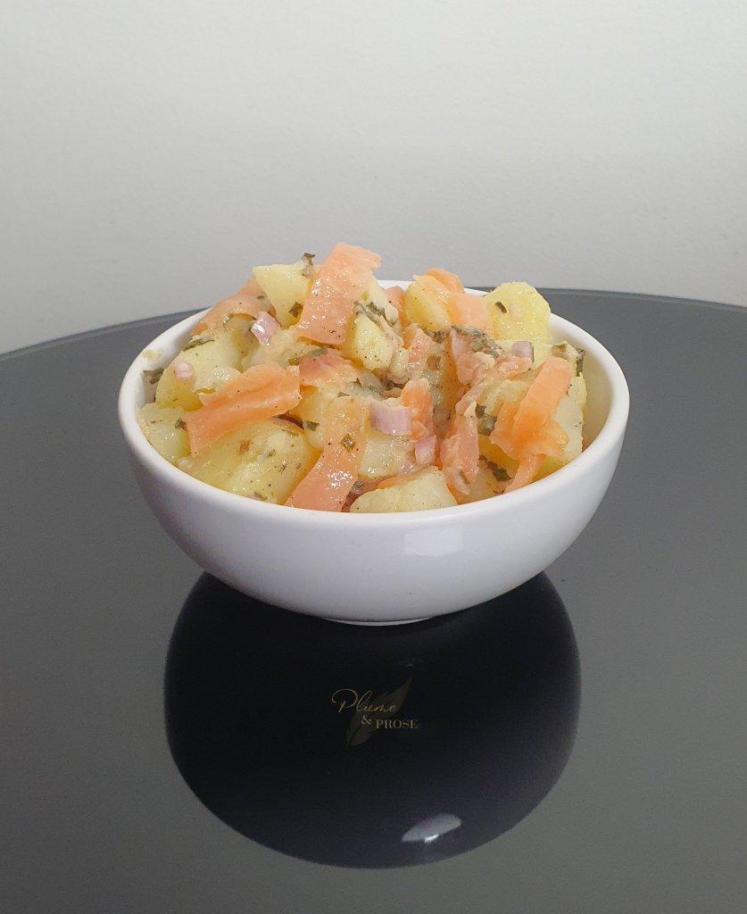 Faites le plein de Saveurs avec cette Salade de Pommes de terre au Saumon