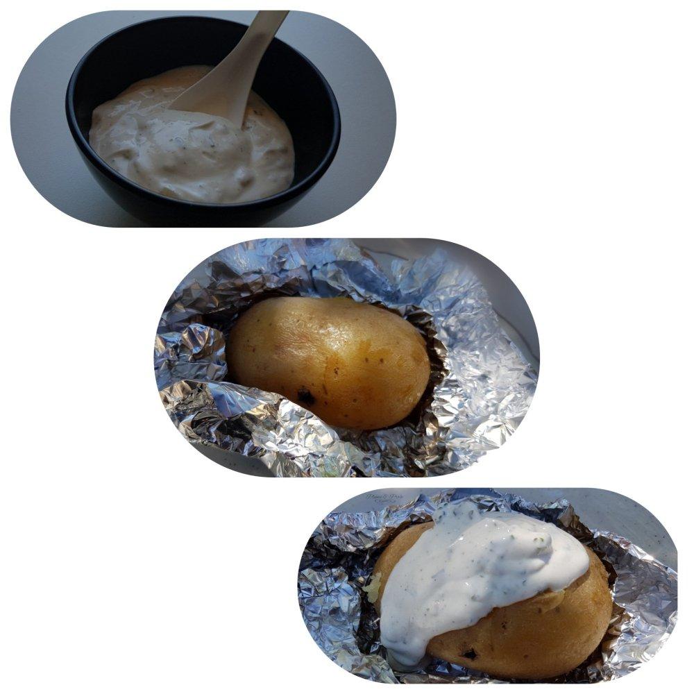 Préparation des pommes de terre à l'islandaise