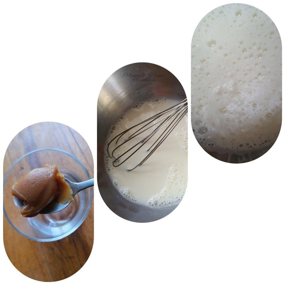 Préparation du Latte Macchiato