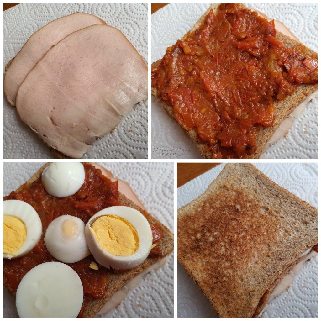 """Préparation de """"Los Carlitos"""" ou le Sandwich Incontournable Argentin"""