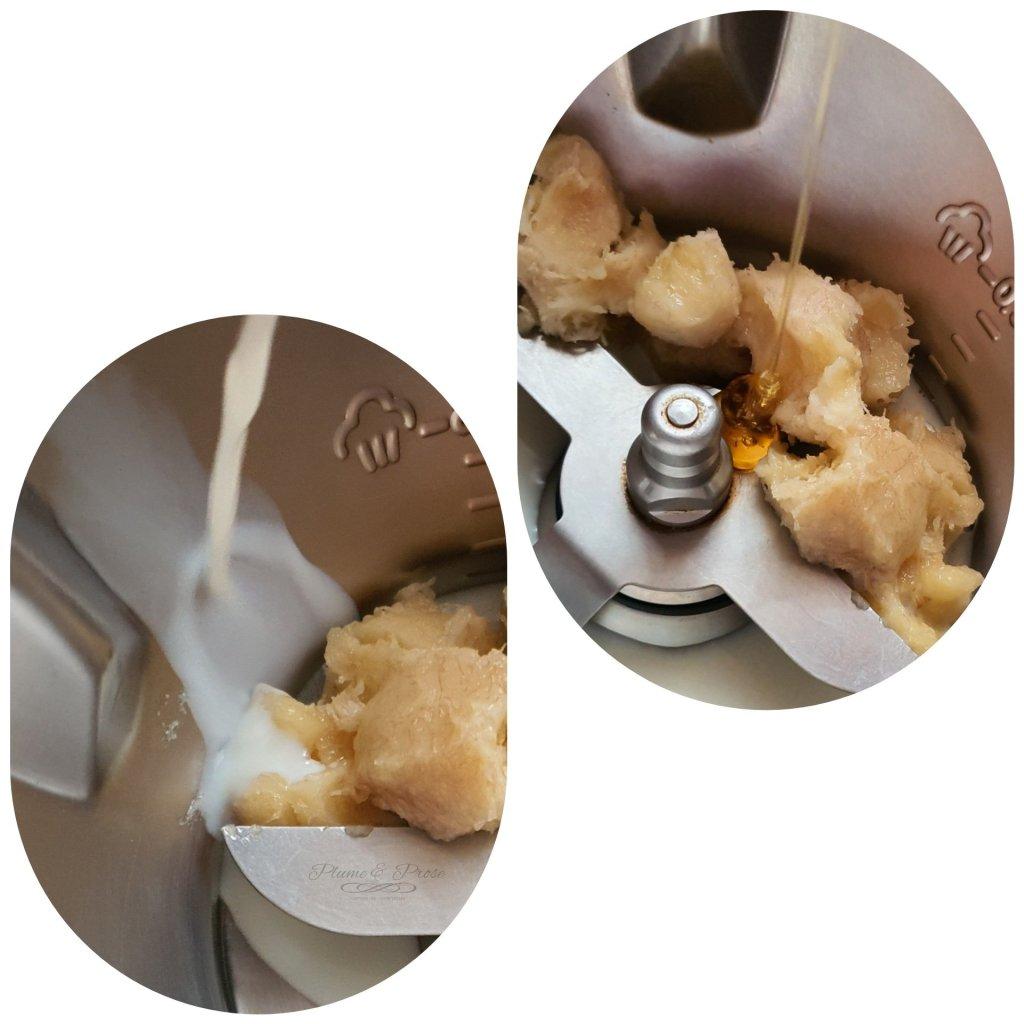 """Préparation du """"Samoan Poi"""" ou La Purée de Banane à la Crème de Coco"""