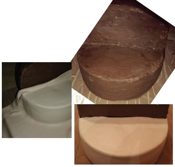 DIY : How to make Moana Cake Design
